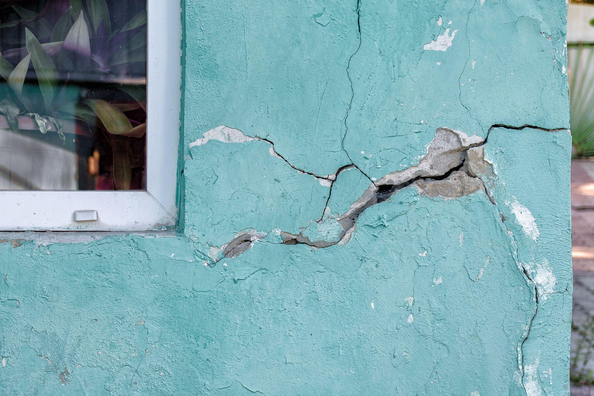 Stucco Damage